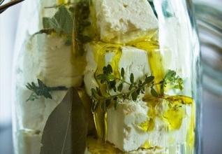 Marinated Greek Feta Cheese